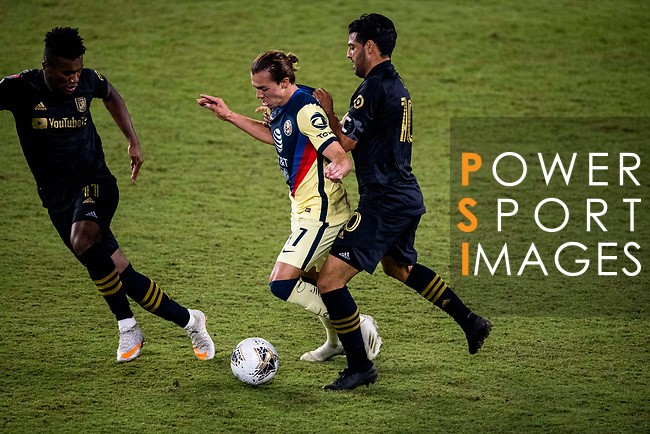 Los Angeles FC (USA) vs Club America (MEX) during their CONCACAF Champions League Semi Finals match at the Orlando's Exploria Stadium on 19 December 2020, in Florida, USA. Photo by Victor Fraile / Power Sport Images