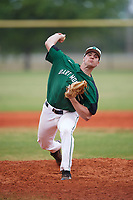 Dartmouth Big Green relief pitcher Austen Michel (35) delivers a pitch during a game against the Southern Maine Huskies on March 23, 2017 at Lake Myrtle Park in Auburndale, Florida.  Dartmouth defeated Southern Maine 9-1.  (Mike Janes/Four Seam Images)