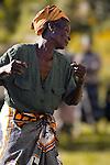 Dancing with Gulewamkulu, Mpalale village, Malawi