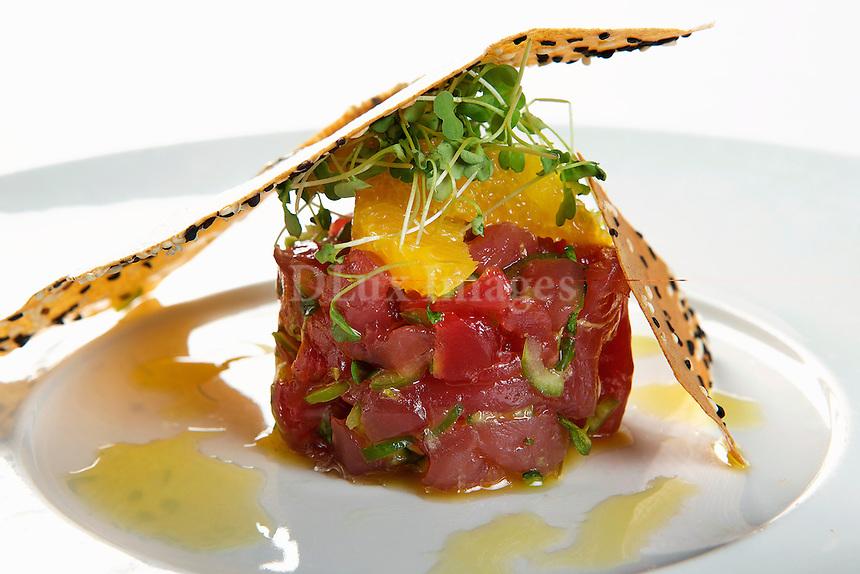 raw fish appetizer