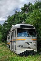 Public transportation relict of the past, Columbus, Ohio