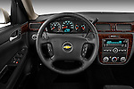 Steering wheel view of a 2012 Chevrolet Impala LS