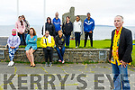 Zen Way Photo Festival: Photographer Karl White , Ballybunion photoraphed with attendees at his lecture on Zen Way photo at the Castle Green on Saturday last.