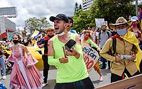 ARMENIA- COLOMBIA, 05-05-2021: Paro Nacional. / the second National Strike. Photo: VizzorImage / Santiago Castro/ Contribuidor