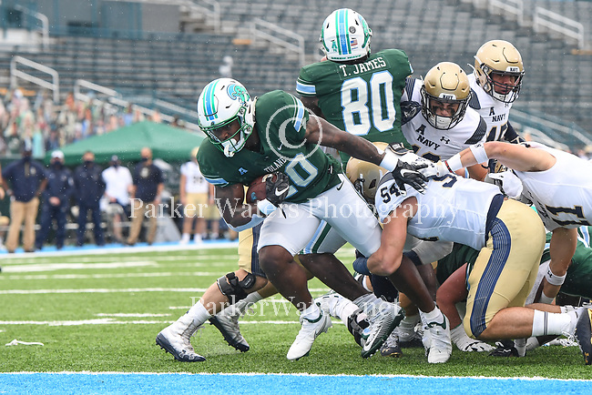 Tulane falls to Navy, 27-24.