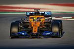 McLaren F1 Team, Lando Norris, takes part in the tests for the new Formula One Grand Prix season at the Circuit de Catalunya in Montmelo, Barcelona. February 19, 2020 (ALTERPHOTOS/Javier Martínez de la Puente)