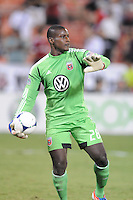 D.C. United goalkepeer Bill Hamid (28) D.C. United defeated The Chicago Fire 4-2 at RFK Stadium, Wednesday August 22, 2012.