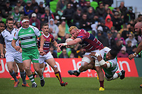 South;and captain Tony Lamborn in action during the Mitre 10 Cup Cup rugby match between Manawatu Turbos and Southland Stags at Manfeild Park in Feilding, New Zealand on Saturday, 1 November 2020. Photo: Dave Lintott / lintottphoto.co.nz
