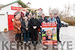At the launch of the annual Red Fox Tractor Run in Glenbeigh on Monday<br /> Front L-R Mary Naughton, Connie Naughton, John Gallivan jnr, Marian O'Sullivan, Liam Fitzgerald, John Gallivan snr, Anthony Naughton, Batty Cahillane, Shane O'Sullivan.<br /> Back L-R Marian Griffin, Tom O'Sullivan, John Mulvihill