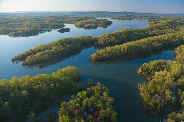 Watts Bar Lake on Tennessee River