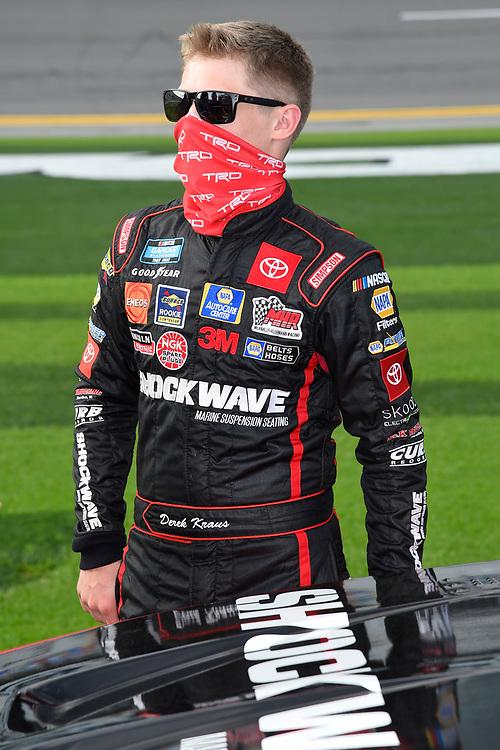 #19: Derek Kraus, McAnally Hilgemann Racing, Toyota Tundra MHR SHOCKWAVE