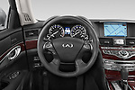 Car pictures of steering wheel view of a 2015 Infiniti Q70 Base 4 Door Sedan Steering Wheel