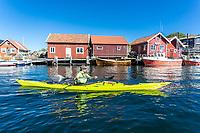 Sea kayaking, Swedish West Coast