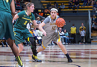 Hind Ben Adbelkader of California fights her way to the basket against Oregon at Haas Pavilion in Berkeley, California on January 5th, 2014. California defeated Oregon