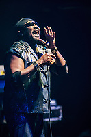 ***FILE PHOTO*** Toots Hibbert of Toots & Maytals Has Passed Away At 77.<br /> <br /> LAS VEGAS, NV - APRIL 15: Toots and The Maytals at Brooklyn Bowl in Las Vegas, Nevada  on April 15, 2017. Credit: <br /> CAP/MPI/GDP<br /> ©GDP/MPI/Capital Pictures