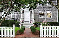 Art gallery, Edgartown, Martha's Vineyard, Massachusetts, USA