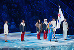 Sochi, RUSSIA - Mar 7 2014 -  The Opening Ceremonies of the Sochi 2014 Paralympic Winter Games in Sochi, Russia.  (Photo: Matthew Murnaghan/Canadian Paralympic Committee)