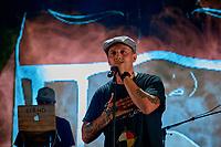 SAMIAN en spectacle, le 6 aout 2021 dans le cadre du Festival international Pre´sence autochtone 2021<br /> <br /> PHOTO :  Pierre Tran - Agence Quebec Presse