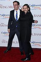 "BURBANK, CA - DECEMBER 09: B.J. Novak, Jason Schwartzman arriving at the U.S. Premiere Of Disney's ""Saving Mr. Banks"" held at Walt Disney Studios on December 9, 2013 in Burbank, California. (Photo by Xavier Collin/Celebrity Monitor)"