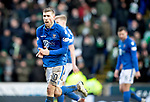 St Johnstone v Celtic…..01.03.20   McDiarmid Park   Scottish Cup Quarter Final<br />David Wotherspoon applauds his team mates<br />Picture by Graeme Hart.<br />Copyright Perthshire Picture Agency<br />Tel: 01738 623350  Mobile: 07990 594431