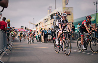 Tom Dumoulin (NED/Sunweb) rolling across the finish line<br /> <br /> Stage 18: Trie-sur-Baïse > Pau (172km)<br /> <br /> 105th Tour de France 2018<br /> ©kramon