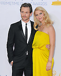 Hugh Dancy and Claire Danes at The 64th Anual Primetime Emmy Awards held at Nokia Theatre L.A. Live in Los Angeles, California on September  23,2012                                                                   Copyright 2012 Hollywood Press Agency