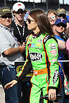 Sprint Cup Series driver Danica Patrick (10in action before the NASCAR Sprint Cup Series AAA 500 race at Texas Motor Speedway in Fort Worth,Texas.
