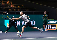 Rotterdam, The Netherlands, 9 Februari 2020, ABNAMRO World Tennis Tournament, Ahoy, Adrian Mannarino (FRA).<br /> Photo: www.tennisimages.com
