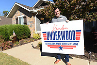 Kendon Underwood of Cave Springs is running as a Republicn for state representative.<br />