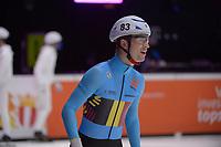 SPEEDSKATING: DORDRECHT: 06-03-2021, ISU World Short Track Speedskating Championships, RF 1500m Men, Rino Vanhooren (BEL), ©photo Martin de Jong