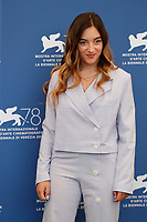 """VENICE, ITALY - SEPTEMBER 06: Luàna Bajrami at the photocall of """"L'Evenement"""" during the 78th Venice International Film Festival on September 06, 2021 in<br /> CAP/GOL<br /> ©GOL/Capital Pictures"""