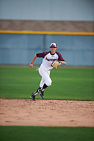 Joe J.C. Dyer (2) of Desert Ridge High School in Mesa, Arizona during the Under Armour All-American Pre-Season Tournament presented by Baseball Factory on January 14, 2017 at Sloan Park in Mesa, Arizona.  (Mike Janes/MJP/Four Seam Images)