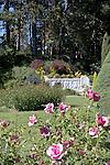 Seattle, Woodland Park Rose Garden, Phinney Ridge neighborhood, This ornamental park is an American Rose Test Garden