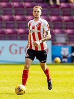 17th July 2021; Tynecastle Park, Edinburgh, Scotland;Pre Season Friendly Football, Heart of Midlothian versus Sunderland; Carl Winchester of Sunderland FC