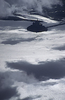 Europe/France/Normandie/Basse-Normandie/50/Manche/Mont Saint-Michel: Le Mont et sa baie -  Vue aérienne