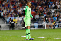 St. Paul, MN - Tuesday June 18, 2019: Zack Steffen of the United States during a 2019 CONCACAF Gold Cup group D match between the United States and Guyana on June 18, 2019 at Allianz Field in Saint Paul, Minnesota.