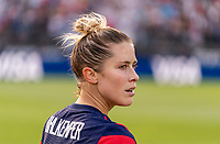 EAST HARTFORD, CT - JULY 5: Abby Dahlkemper #17 of the USWNT looks at her teammates during a game between Mexico and USWNT at Rentschler Field on July 5, 2021 in East Hartford, Connecticut.