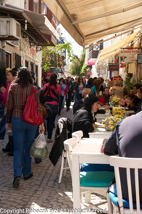 Alacati, Turkey - once a Greek town now a holiday spot for Istanbul's rich