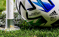 CARSON, CA - SEPTEMBER 19: NATIVO Adidas XXV during a game between Colorado Rapids and Los Angeles Galaxy at Dignity Heath Sports Park on September 19, 2020 in Carson, California.