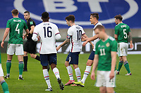BELFAST, NORTHERN IRELAND - MARCH 28: Christian Pulisic #10 of the United States celebrates scoring with teammates during a game between Northern Ireland and USMNT at Windsor Park on March 28, 2021 in Belfast, Northern Ireland.