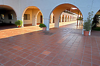 Mission de Oro showing plaza. Santa Nella. California