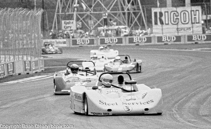 Renault spec racers in action at the Florida State Fairgrounds, September 1990. (Photo by Brian Cleary/www.bcpix.com)