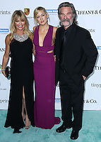 CULVER CITY, LOS ANGELES, CA, USA - NOVEMBER 08: Goldie Hawn, Kate Hudson, Kurt Russell arrive at the 3rd Annual Baby2Baby Gala held at The Book Bindery on November 8, 2014 in Culver City, Los Angeles, California, United States. (Photo by Xavier Collin/Celebrity Monitor)