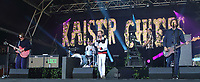 Kaiser Chiefs perform at the Pub in the Park's Drive In Garden Party at Knebworth Park, Herts on Saturday September 12th 2020<br /> CAP/ROS<br /> ©ROS/Capital Pictures