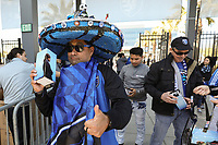 SAN JOSE, CA - FEBRUARY 29: Fan during a game between Toronto FC and San Jose Earthquakes at Earthquakes Stadium on February 29, 2020 in San Jose, California.