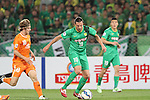 Beijing Guoan vs Bribane Roar during the 2015 AFC Champions League Group G match on April 21, 2015 at the Beijing Workers Stadium in Beijing, China. Photo by Yumiko Kawasaki / World Sport Group