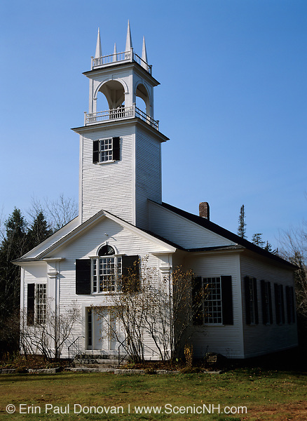 North Wilmot Church located in Wilmot, New Hampshire USA which is part of scenic New England
