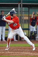 Illinois Fighting Illini outfielder Willie Argo #42 during a game against the Notre Dame Fighting Irish at the Big Ten/Big East Challenge at Walter Fuller Complex on February 17, 2012 in St. Petersburg, Florida.  (Mike Janes/Four Seam Images)