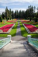 Duncan Renaissance Garden, Manito Park, Spokane, Washington State, WA, America, USA.