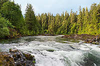North Umpqua River, Oregon.  Summer.   Famous, world-class steelhead and salmon stream.  Designated part of the National Wild and Scenic River system.